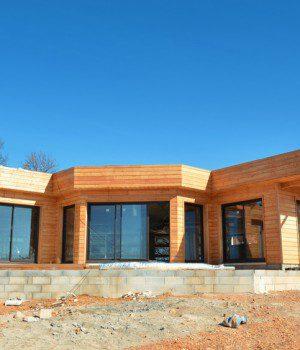 Prix moyen pour la construction d 39 une maison en bois for Maison ossature en bois prix
