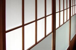 Cloison coulissante japonaise