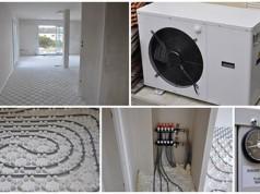 Pompe à chaleur air eau plancher chauffant