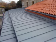 Couverture toiture en zinc