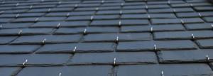 Feuille rectangulaire pour toiture en ardoise