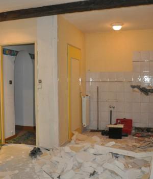abattre une cloison budget pour faire casser une cloison de pl tre. Black Bedroom Furniture Sets. Home Design Ideas