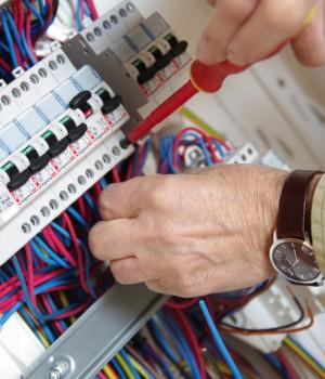 Installation d'un tableau électrique
