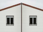 Bardage de façade en pvc