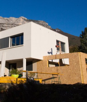 Agrandissement d'une maison par extension
