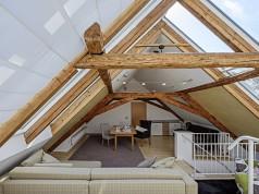 Surélévation d'une toiture et combles aménagés