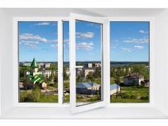 Fenêtre PVC avec double vitrage