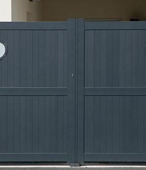 quel type de portail choisir prix des portails selon le mat riau. Black Bedroom Furniture Sets. Home Design Ideas