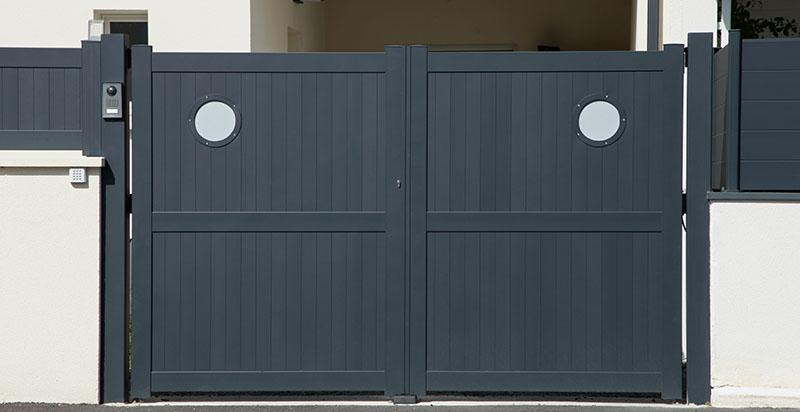 quel type de portail choisir prix des portails selon le. Black Bedroom Furniture Sets. Home Design Ideas