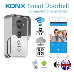 KONX-Doorbell-Interphone-Portier-Video-IP-Rseau-Wifi-RJ45-Relais-porte-Synthse-Vocale-Anglais-0