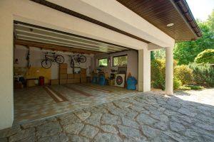 Aménagement et construction d'un garage