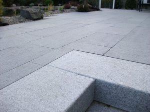 Terrasse en granit