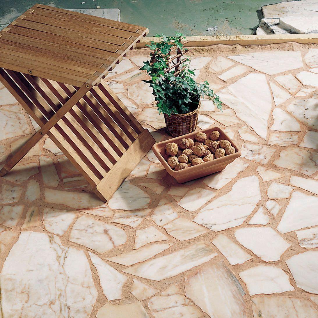 Comment Nettoyer Le Marbre Exterieur terrasse en pierre : prix au m2 achat et pose de pierres