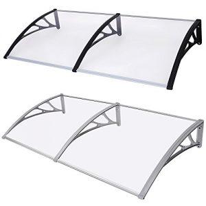Songmics-195-X-100-Auvent-porte-cmterrasse-toit-transparent-0