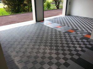 Un revêtement de sol en PVC pour votre garage