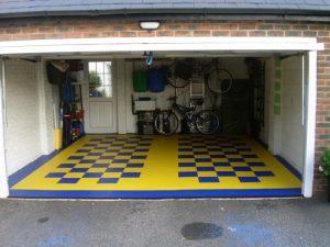 De la peinture spéciale pour le sol de votre garage