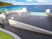 plage de piscine bois composite fiberon