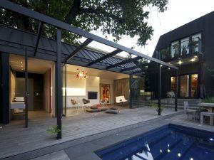 pool house aménagé