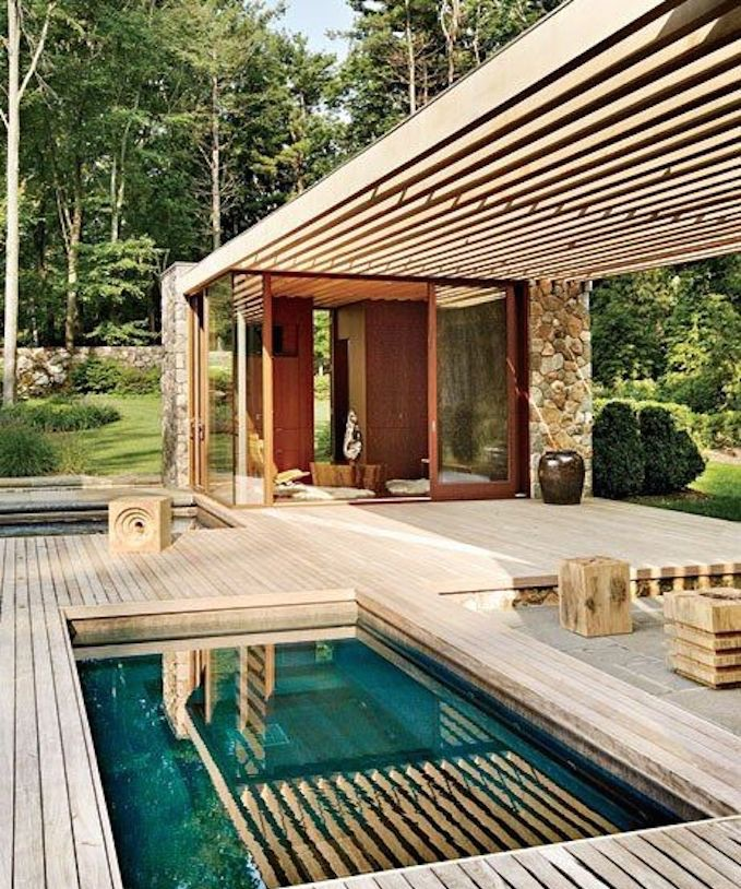 Pool house prix moyen mat riaux de construction et for Construction pool house piscine