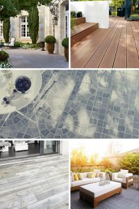 Carrelage, béton, bois : sols pour réaliser une terrasse