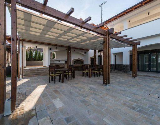 Une pergola pour une terrasse couverte