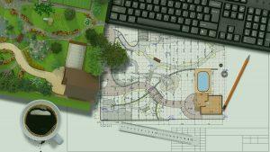 plan jardin paysagiste