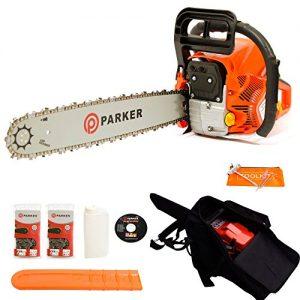 Trononneuse-thermique-Parker-62-cm-Longueur-de-guide-de-50cm-2-chaine-sac-de-transport-et-kit-doutilscache-0