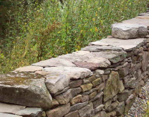 muret pierres sèches