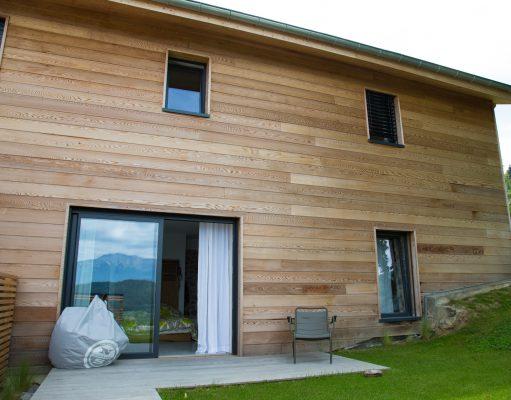 entretien bardage bois facade