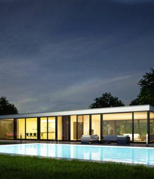 maison couverture toit plat