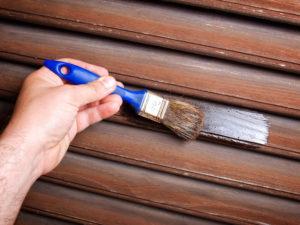 entretien volet bois