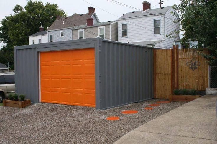 Amenagement Conteneur garage container : budget moyen pour la pose et cout de l'aménagement