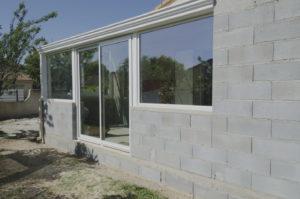 extension maison parpaing