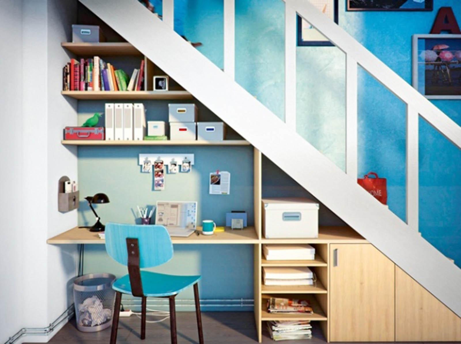 Coût Bibliothèque Sur Mesure prix d'aménagement du dessous d'escalier pose et fourniture