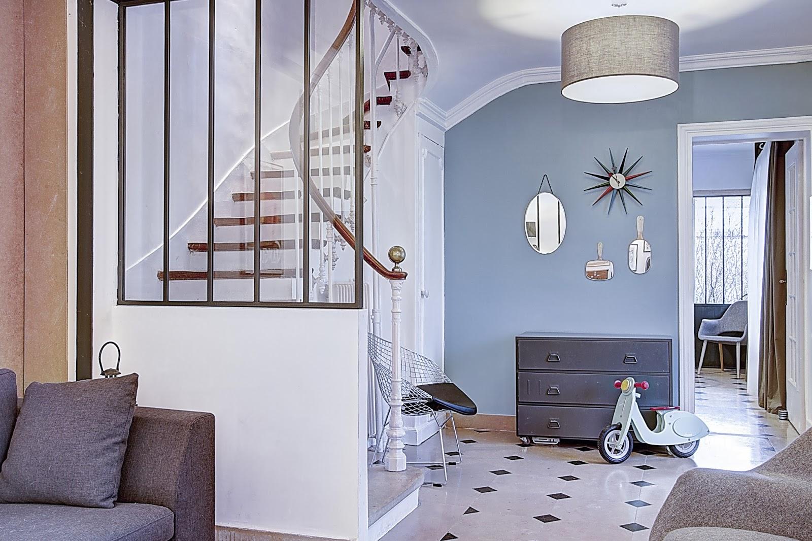 co t d une verri re d escalier prix moyen finitions et. Black Bedroom Furniture Sets. Home Design Ideas